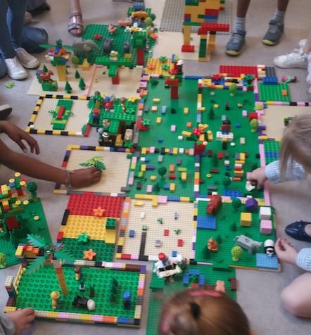 Anniversaire à domicile avec des briques LEGO® et moteurs/batteries électriques - 4/12 ans