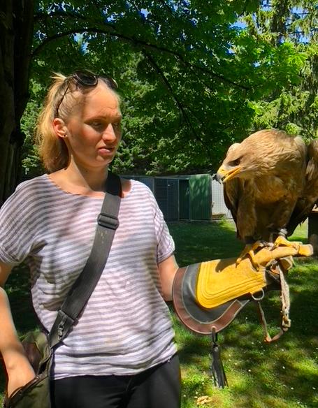 Anniversaire avec des faucons - 8/14 ans - Luzarches 95
