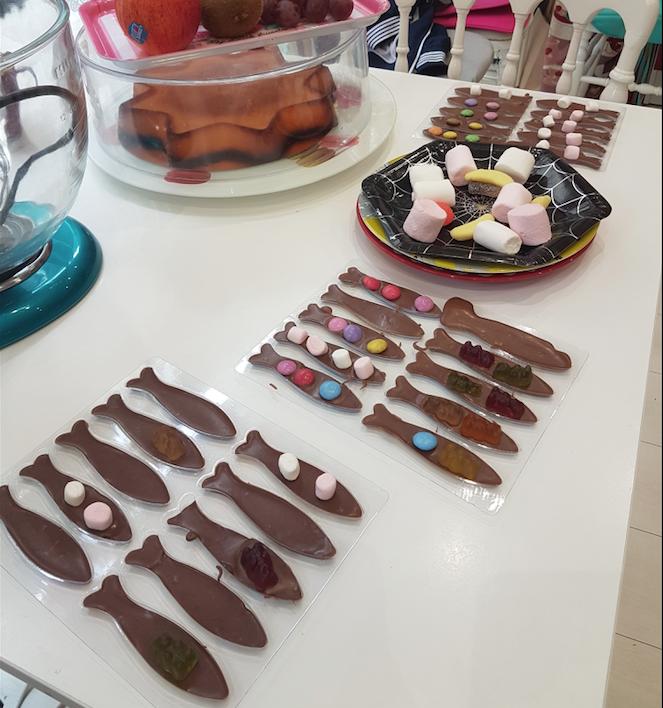 Anniversaire chocolat - 7/14 ans - Paris 17è
