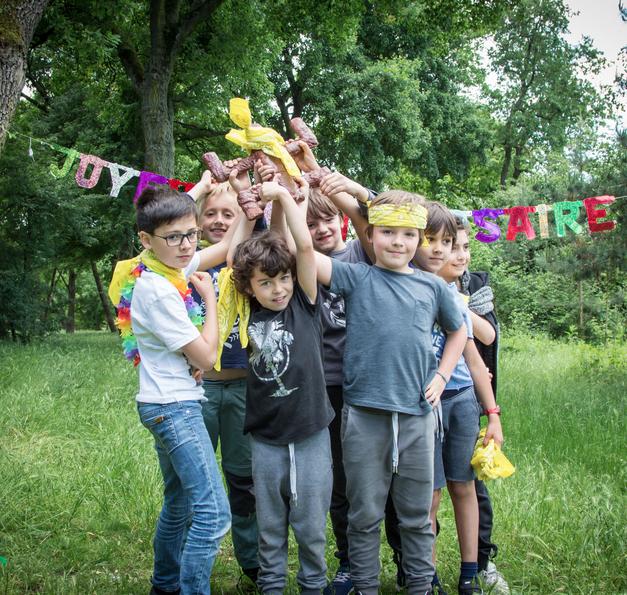 Anniversaire garden party 6/13 ans