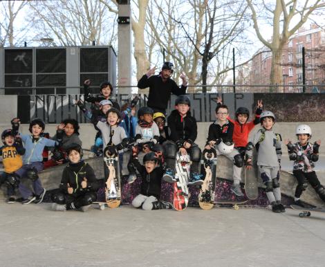 Anniversaire skateboard - 5/15 ans - Paris 3è