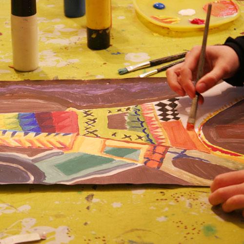 Atelier Arts plastiques 5j - 6/12ans - Paris 8è