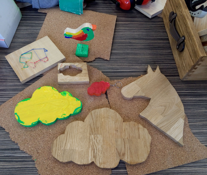 Atelier création bois - 6/12 ans