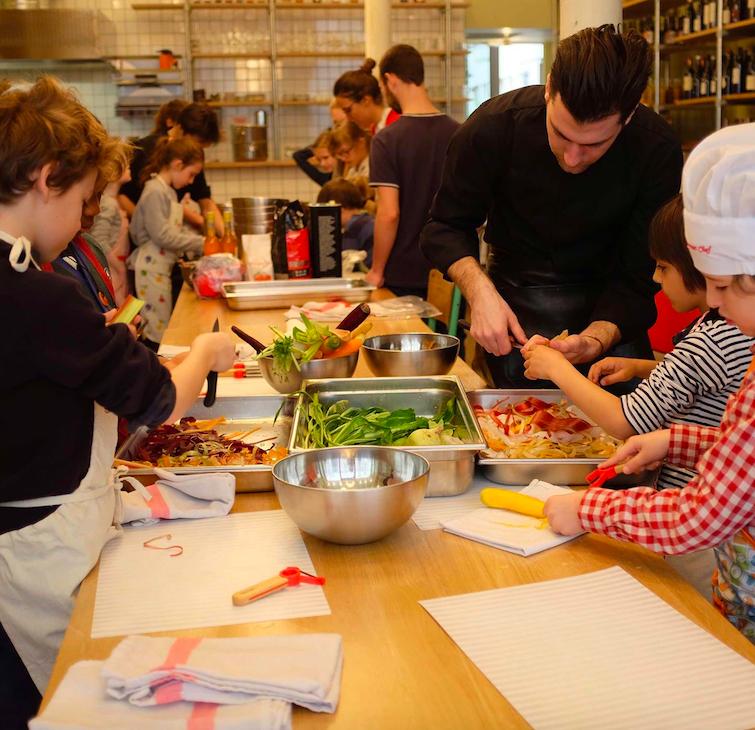 Cuisine et éducation culinaire 7/14ans - Paris