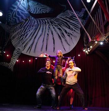 Le Zèbre-Art du cirque duo - 2/99 ans - Paris 11è