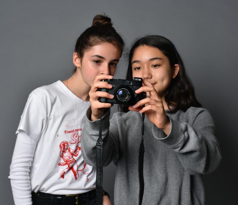 Photographie de mode 14/17 ans - Paris 15è