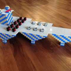 Atelier Anniversaire avec les briques Lego