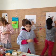 Atelier Atelier de dessin-peinture 7/14 ans - Paris 14è