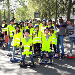 Atelier hoverkart tour atelier enfant paris 4e for Karting exterieur 92