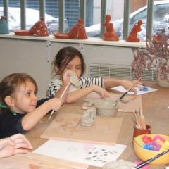Atelier Poterie et cie vacances