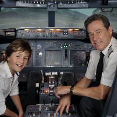 Atelier Simulation de vol de Boeing