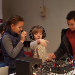 Atelier Stage d'Initiation à la radio 7/16ans - Paris 13è