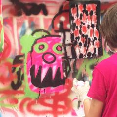 Atelier Stage street art 8/14 ans - Paris 18è