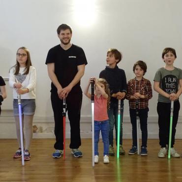 Atelier A l'Anniversaire Sabre Laser - Paris 10è
