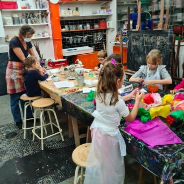 Atelier Abonnement annuel Arts plastiques - Paris 9è