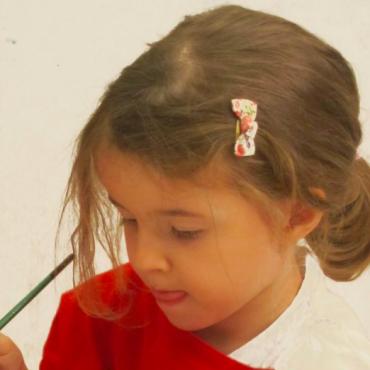Atelier Anniv dans un atelier Galerie - 4/12 ans