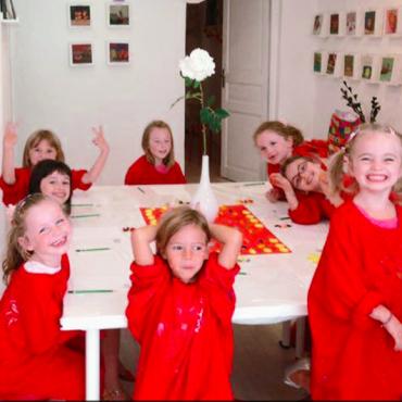 Atelier Anniv dans un atelier Galerie - 4/13 ans - Avignon