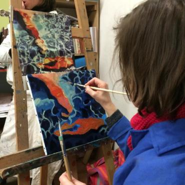 Atelier Anniversaire à l'atelier Bridaine - Paris 17è