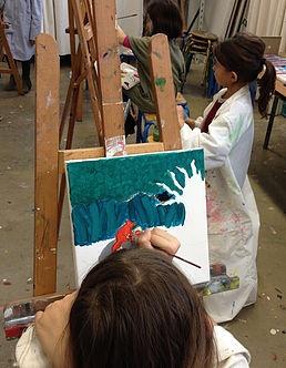 Atelier Anniversaire à l'atelier l'Art Vivant - 6/13 ans
