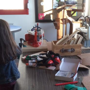 Atelier Anniversaire création bois