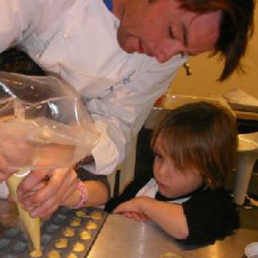 Atelier Anniversaire cuisine concept chef