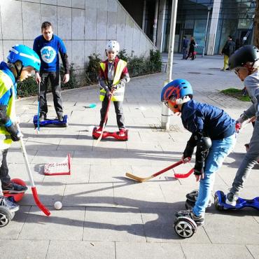 Atelier Anniversaire E-Hockey© - 7/15 ans