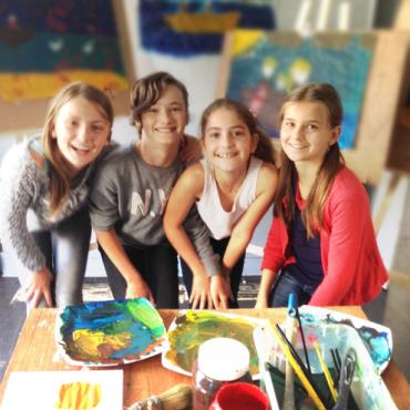 Atelier Anniversaire en peinture - 92