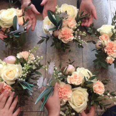 Atelier Anniversaire fleuri à domicile - 4/12 ans