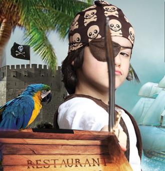 Atelier Anniversaire Pirate - 5/12 ans