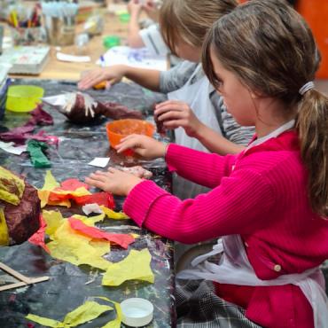 Atelier Arts plastiques 4/8 ans 4j - Paris 9è