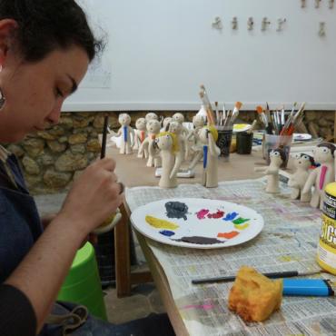 Atelier Atelier Art Accès cible