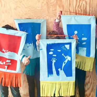 Atelier Atelier arts plastiques et sérigraphie - 6/11 ans - Nantes