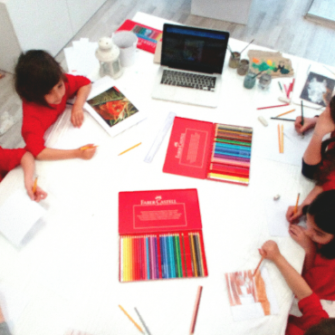 Atelier Atelier arts plastiques - semaine - 4/10 ans - Lyon 4è