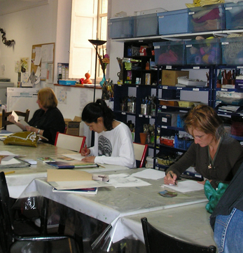 Atelier Atelier arts plastiques-Toulouse