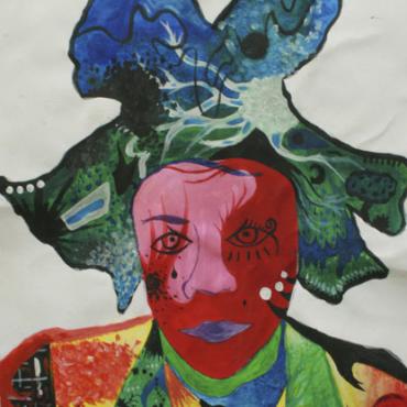 Atelier Atelier Bleu cerise - 6/12 ans