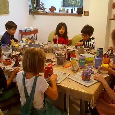 Atelier Atelier céramique Thème 'Forêt magique' - 5/12 ans - Paris 11è