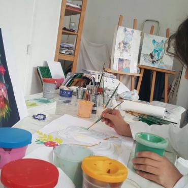 Atelier Atelier de dessin-peinture 8/16 ans - Paris 14è