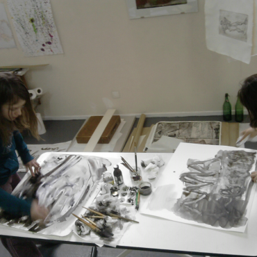 Atelier Atelier de Gravure - 10/16 ans - 13è