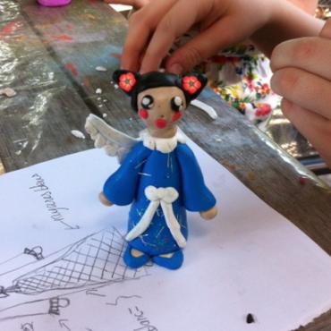 Atelier Atelier de modelage avec une plasticienne - 3/14 ans