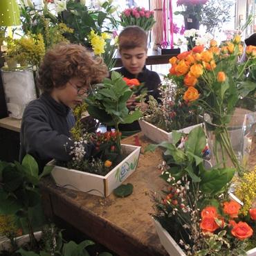 Atelier Atelier floral duo- Paris 14è