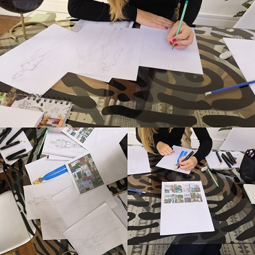 Atelier Atelier initiation à l'art - 5/12 ans - Paris 14è