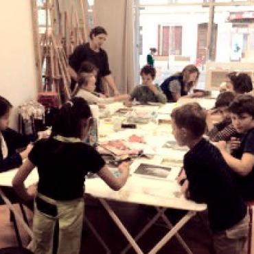 Atelier Atelier l'oiseau rouge - desin 7/10 ans - Paris 11è