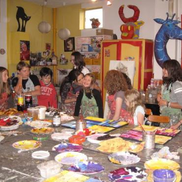 Atelier Atelier peinture 8/13ans 1h30-Strasbourg 67