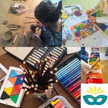 Atelier Atelier peinture modelage récup' - 2j- Tresses 33