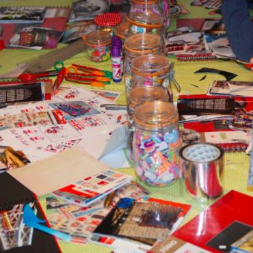 Atelier Atelier Scrapbooking - 4/15 ans