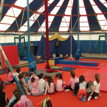Atelier Centre des arts du cirque Balthazar - Montpellier