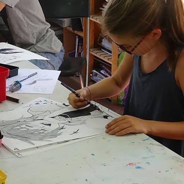 Atelier Cours de dessin - 11/14 ans - Marseille 13
