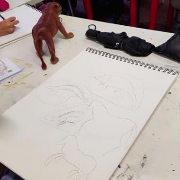 Atelier Cours de dessin - 7/10 ans - Marseille 13