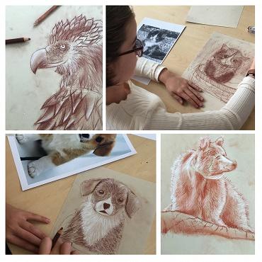 Atelier Cours de dessin 7/14ans 4j - Paris 5è