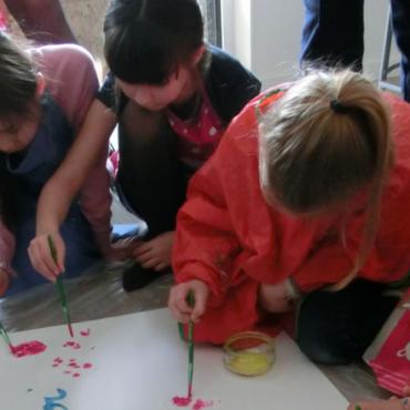 Atelier Graines d'artistes - Mon anniversaire- Nantes 44